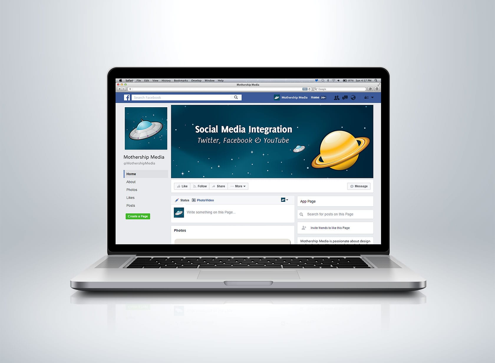 MM FB Project Image 03 - Social Media Branding - Facebook Business Page, Cover Image 3
