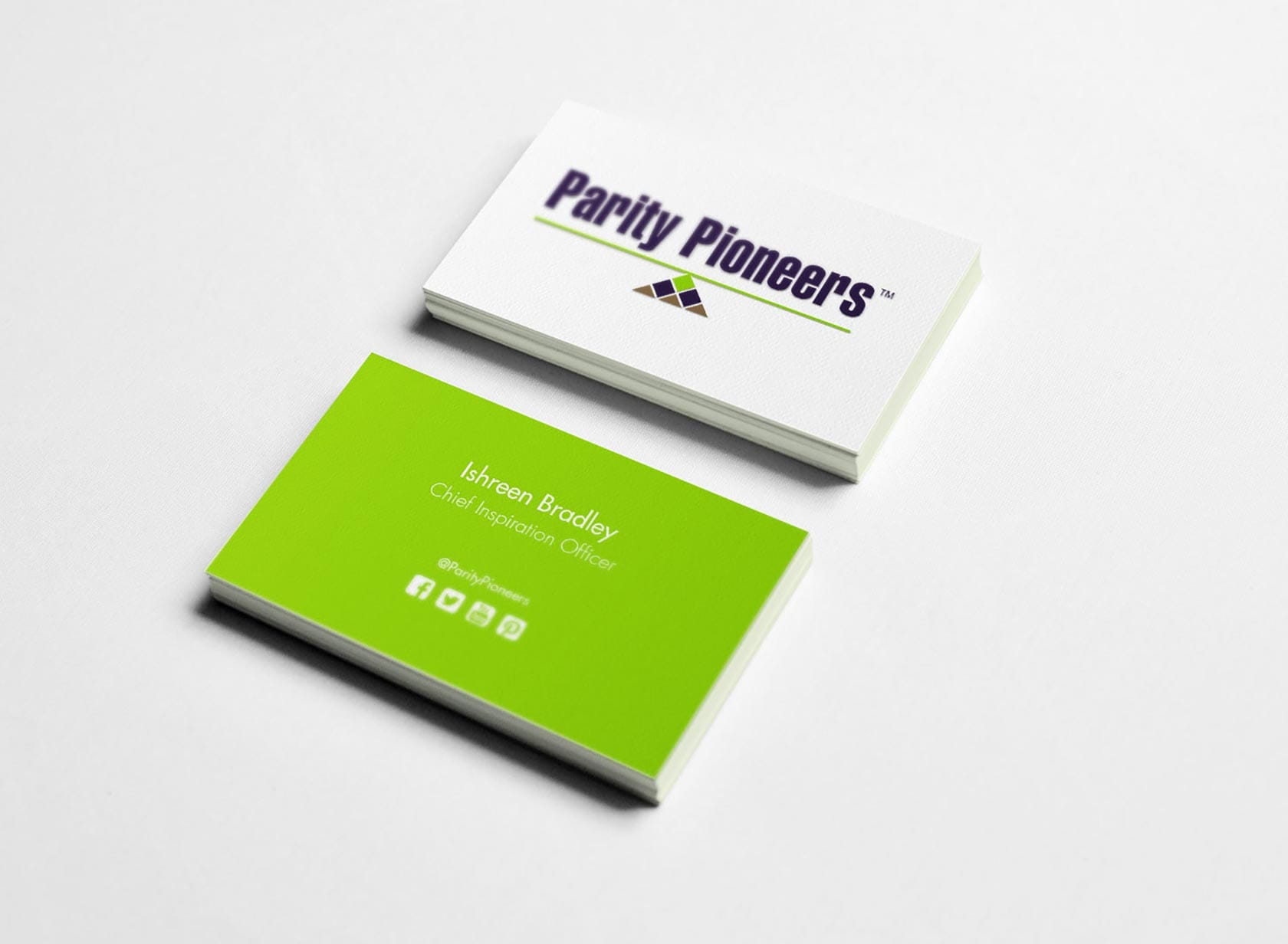 PP Project Image 04 - Logo & Visual Identity Design - Business Cards